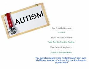 life insurance and autism