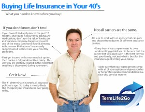 Life insurance 40 year old