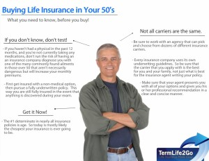 Life insurance 56 year old